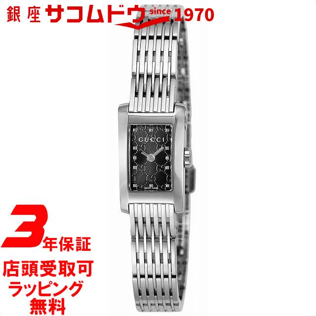 【店頭受取対応商品】[3年保証][グッチ]GUCCI 腕時計 Gメトロ ブラック文字盤 YA086514 レディース [並行輸入品]