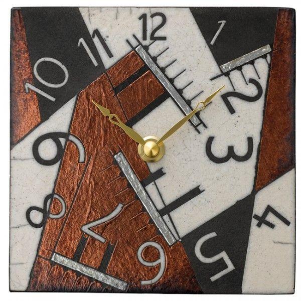 Antonio Zaccarella アントニオ ザッカレラ インテリア クロック 掛・置兼用時計 イタリア製陶器枠 ザッカレラZ188 ZC188-009