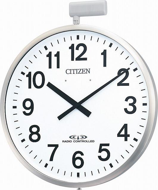 【3000円以上のお買いものでポイント3倍母の日特集7日(木)09:59迄】CITIZEN シチズン リズム時計工業 RHYTHM クロック 掛け時計 パルウエーブM611B 大型掛け時計(屋外用) 4MY611-B19