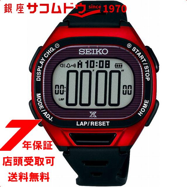 【店頭受取対応商品】セイコー プロスペックス SEIKO PROSPEX 腕時計 Super Runners ソーラー 薄型ランナーズ デジタル ソフトポリウレタンバンド 10気圧防水 SBEF047