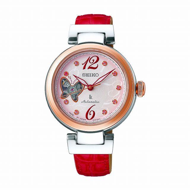 8a0add4ad5 [セイコー]SEIKO ルキア LUKIA メカニカル 自動巻き 2019 SAKURA Blooming 限定モデル 腕時計 レディース 綾瀬はるか  イメージキャラクター SSQVM052