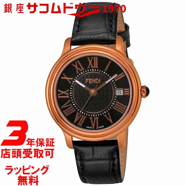 [フェンディ]FENDI 腕時計 CLASSICOROUNDMEN ブラック文字盤 F256511011 メンズ 【並行輸入品】