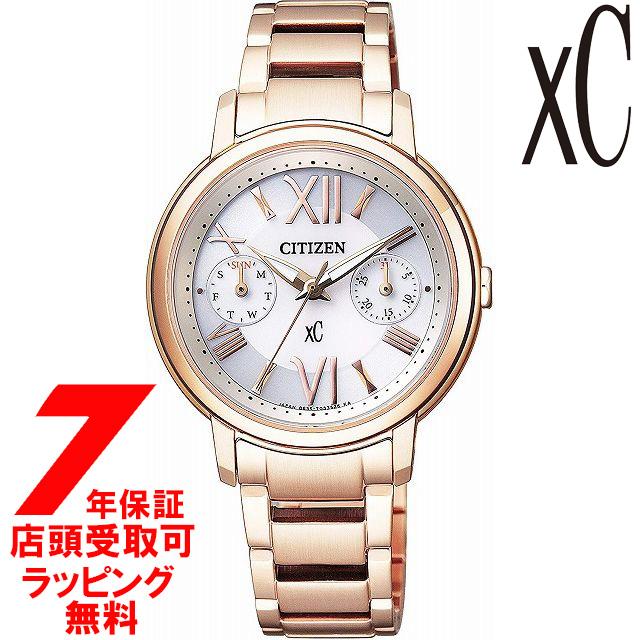 【店頭受取対応商品】【ノベルティ付き】[7年保証] シチズン CITIZEN 腕時計 xC クロスシー FD1092-59A ウォッチ エコ・ドライブ レディース