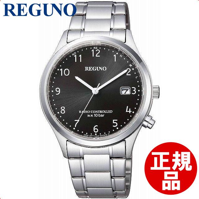 【店頭受取対応商品】CITIZEN シチズン REGUNO レグノ 腕時計 スタンダード ウォッチソーラーテック 電波時計 KL8-911-51 メンズ