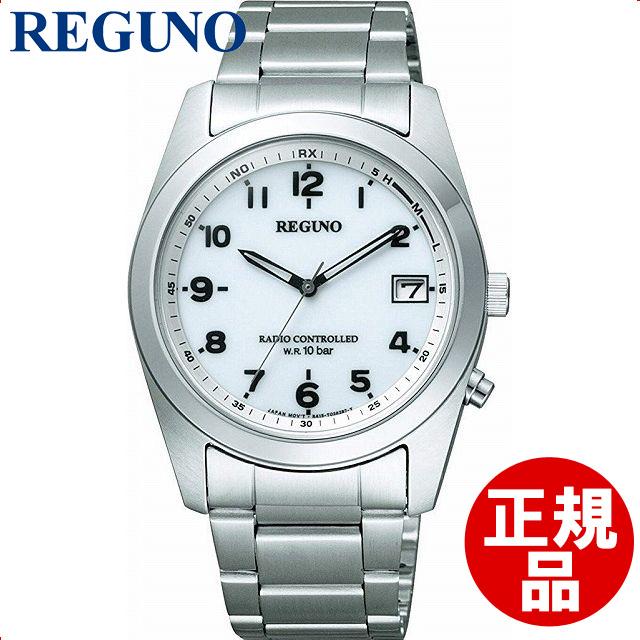 【店頭受取対応商品】CITIZEN シチズン REGUNO レグノ 腕時計 電波ソーラー時計 [RS25-0482H]