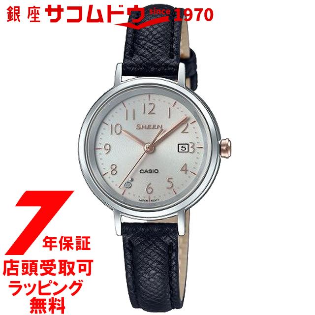 【ポイント最大44倍お買い物マラソンン最大2000円OFFクーポン16日(土)01:59迄】【店頭受取対応商品】カシオ CASIO 腕時計 SHEEN シーン ウォッチ SHS-D100L-4AJF [4549526216565-SHS-D100L-4AJF]