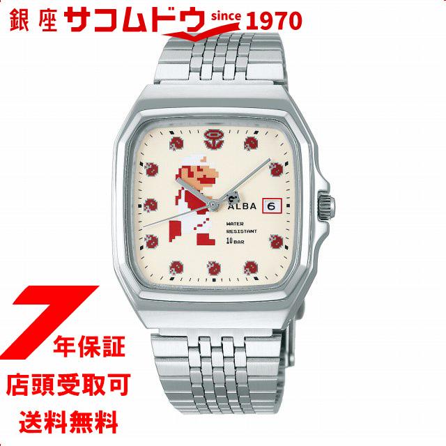 [セイコー]SEIKO アルバ ALUBA ファミコンマリオ スーパーマリオ ACCK421 腕時計 メンズ