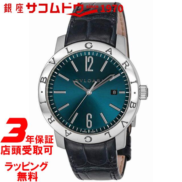 3年延長保証 ラッピング無料 トラスト 評判 送料無料 ブルガリ BVLGARI 腕時計 BB41C3SLD メンズ 並行輸入品 ブルガリブルガリ ブルー文字盤