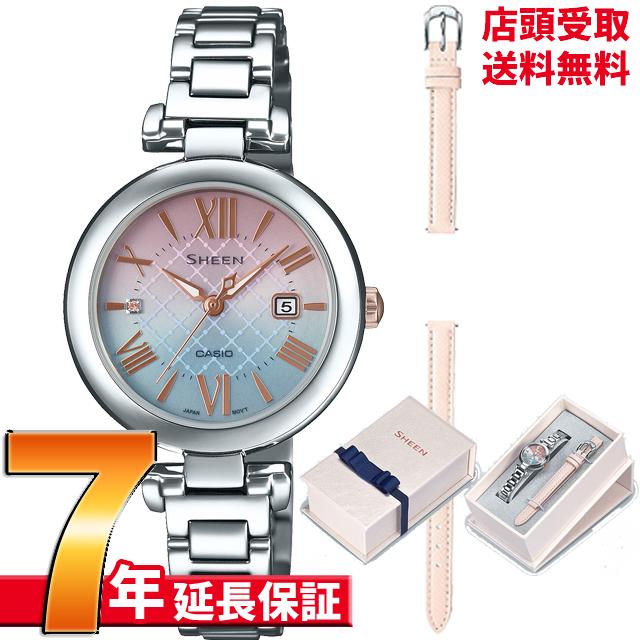[7年延長保証] カシオ CASIO 腕時計 SHEEN シーン ウォッチ SHS-4502LTE-7AJR [4549526247828-SHS-4502LTE-7AJR]