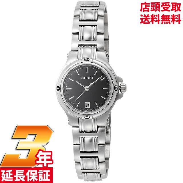 【店頭受取対応商品】[3年保証][グッチ]GUCCI 腕時計 9045 SS ブラック YA090506 レディース [並行輸入品]