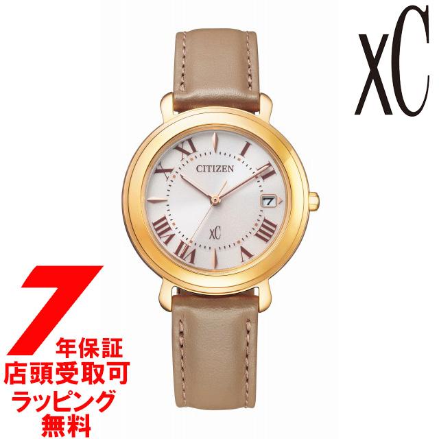 【店頭受取対応商品】【ノベルティ付き】シチズン CITIZEN hikariコレクション xc クロスシー 腕時計 EO1203-03A レディース