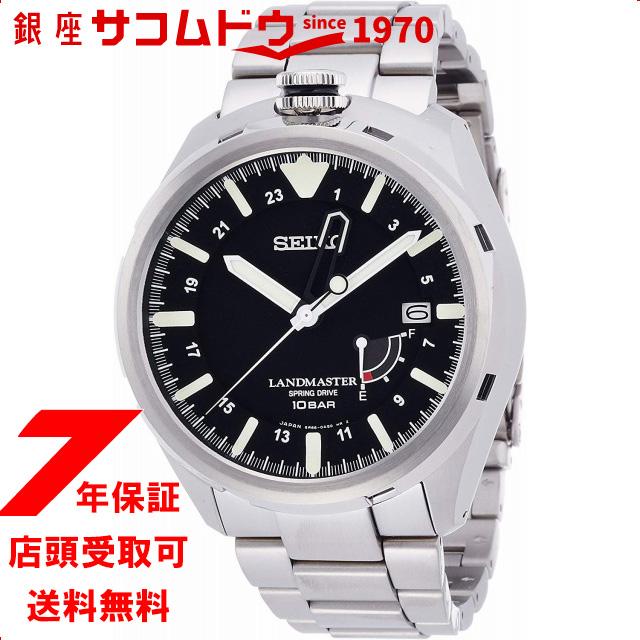 [セイコーウォッチ] 腕時計 プロスペックス ランドマスター スプリングドライブ SBDB015