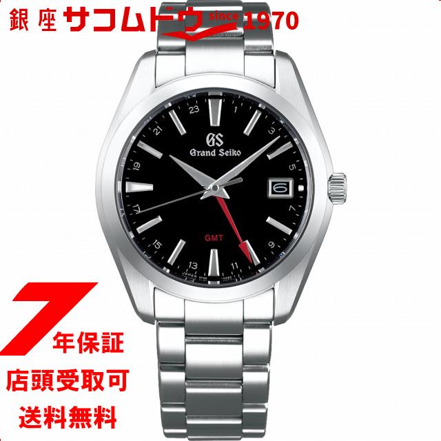 【店頭受取対応商品】【ノベルティ付き】GRAND SEIKO グランドセイコー SBGN013 腕時計 メンズ ウォッチ 9Fクオーツ GMT ブラック