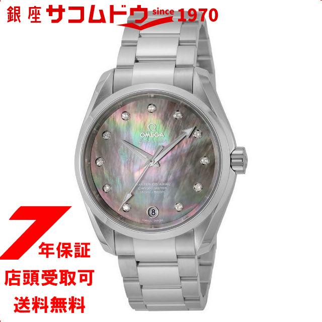 オメガ OMEGA 231.10.39.21.57.001 [腕時計 シーマスター アクアテラ ブラックパール 並行輸入品]