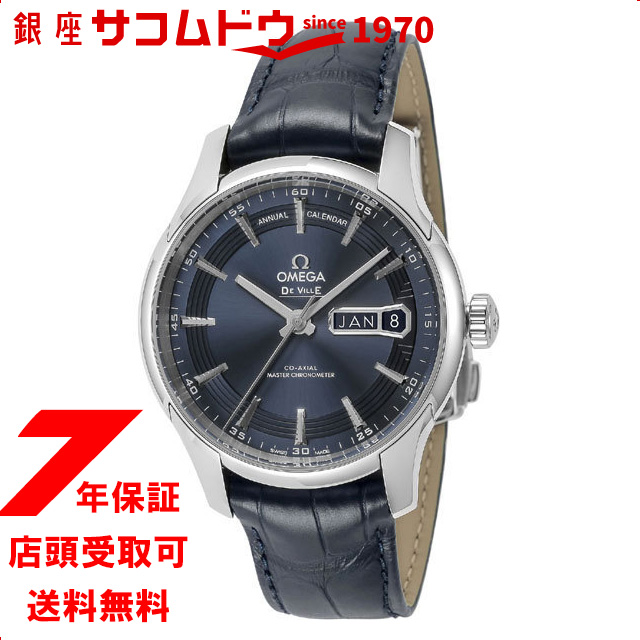 OMEGA オメガ 433.33.41.22.03.001 デ・ビル アワービジョン ネイビー 腕時計 並行輸入品