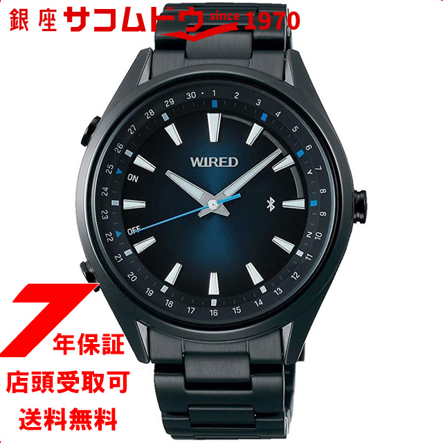 [2020年6月19日発売]セイコー ワイアード AGAB413 WIRED SEIKO 腕時計 メンズ TOKYO SORA Bluetooth