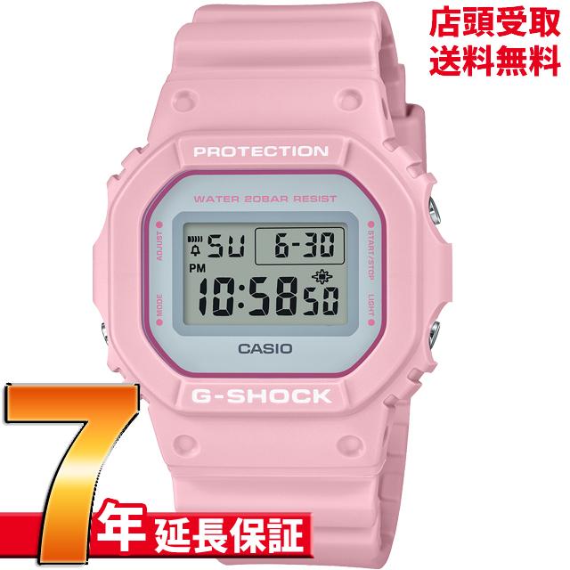【ポイント最大44倍お買い物マラソンン最大2000円OFFクーポン16日(土)01:59迄】[7年延長保証] カシオ CASIO 腕時計 G-SHOCK ジーショック DW-5600SC-4JF [4549526267659-DW-5600SC-4JF]