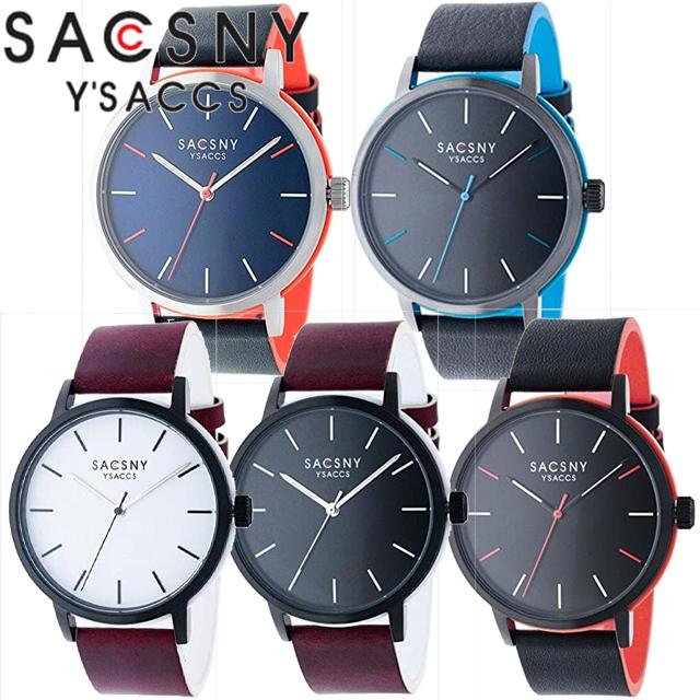 SACCSNY Y'SACCS サクスニーイザック 腕時計 SYA15141B-BKBR SYA15141B-WHBR SYA15141U-GUGU SYA15141B-BKBK SYA15141S-BLBL