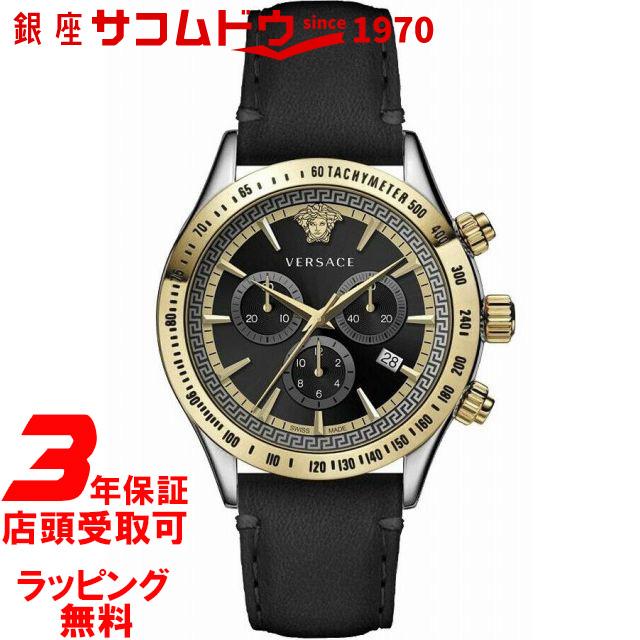 【ポイント最大44倍お買い物マラソンン最大2000円OFFクーポン16日(土)01:59迄】ヴェルサーチ VERSACE VEV7002 19 メンズ 腕時計