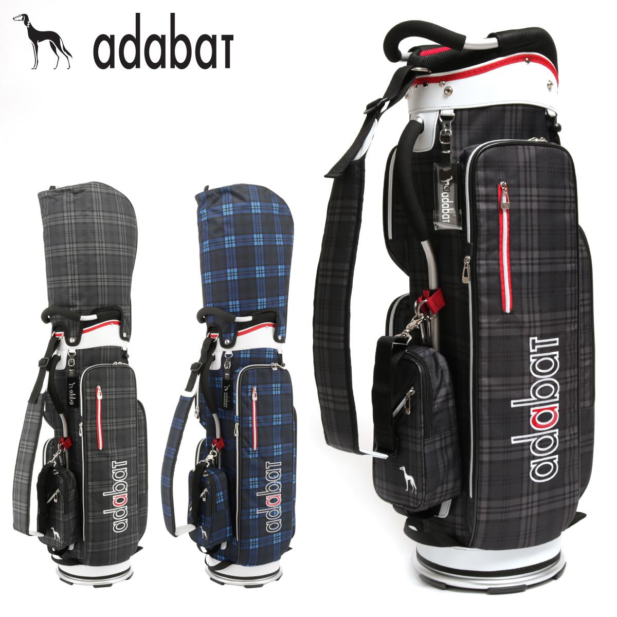 アダバット キャディバッグ 9.0型 47インチ対応 メンズ ABC309 adabat | ゴルフバッグ スタンド ゴルフ[即日発送][PO10]