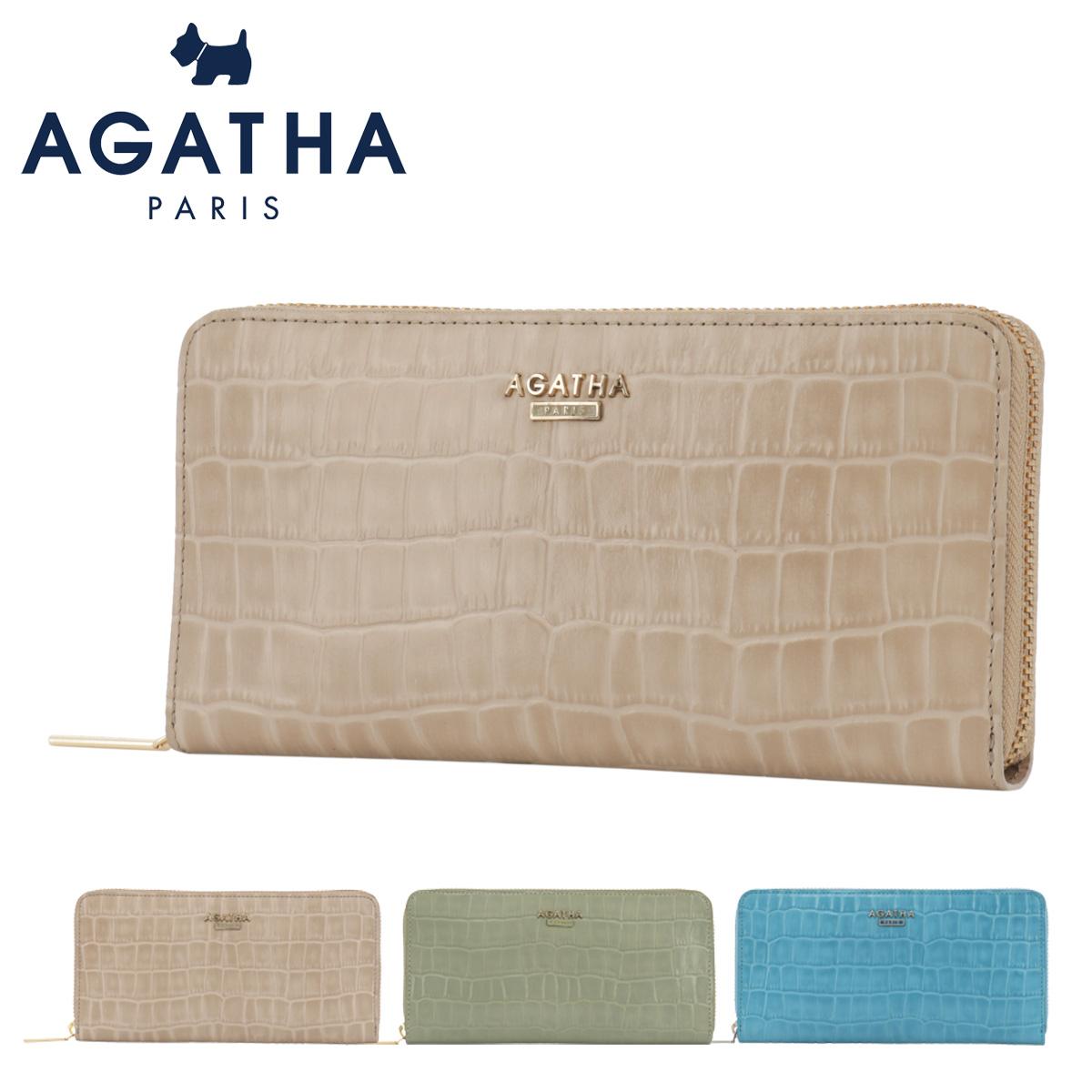 アガタ パリ 長財布 ラウンドファスナー レオン2 レディース 13068 AGATHA PARIS | 本革 レザー
