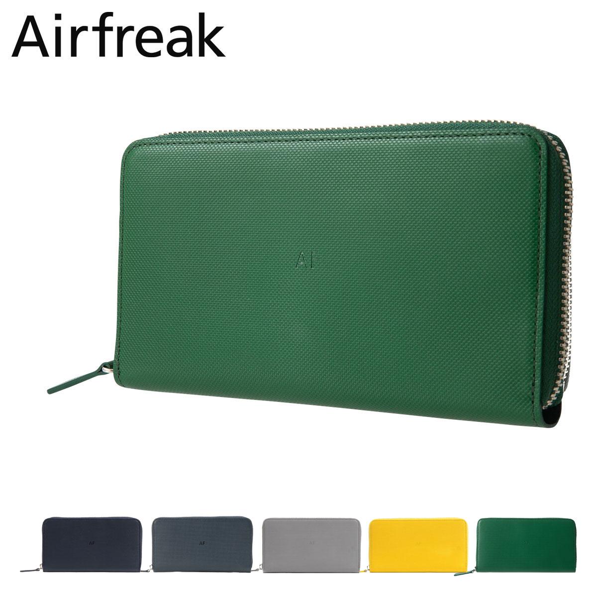 エアフリーク 長財布 ラウンドファスナー メンズ レディース AF09 Airfreak | レザー ユニセックス[PO10]