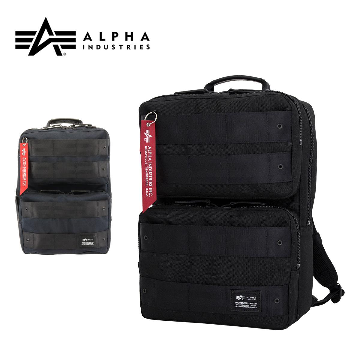 アルファインダストリーズ 3WAYビジネスバッグ メンズ 日本製 40081 ALPHA INDUSTRIES リュック 豊岡鞄 A4 キャリーオン 容量12L [PO10][bef]