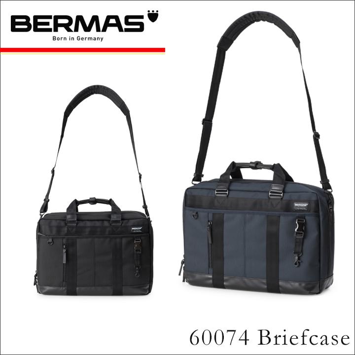 バーマス バッグ ビジネス 3WAY B4 メンズ 60074 ブリーフケース 防水 撥水 防汚 拡張 ナイロン PCケース 13インチ キャリーオン バウアー BERMAS [1年保証][PO10][bef]