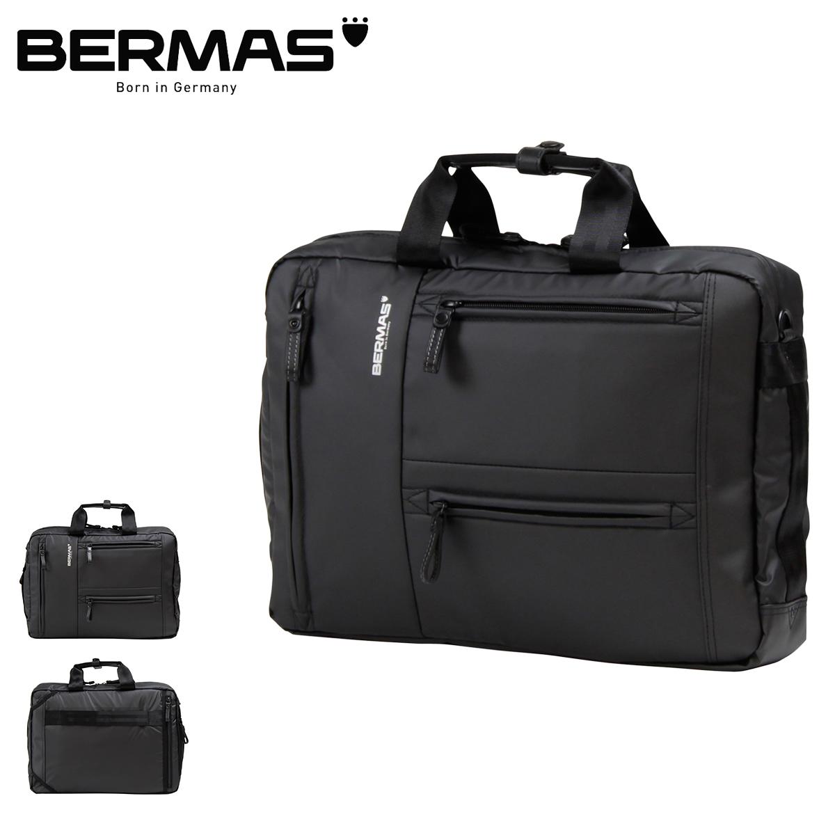 バーマス ビジネスバッグ 3WAY リュック バックパック A4 アルスフェルト メンズ 60350 BERMAS | ブリーフケース ショルダーバッグ キャリーオン 撥水 [PO10][bef]