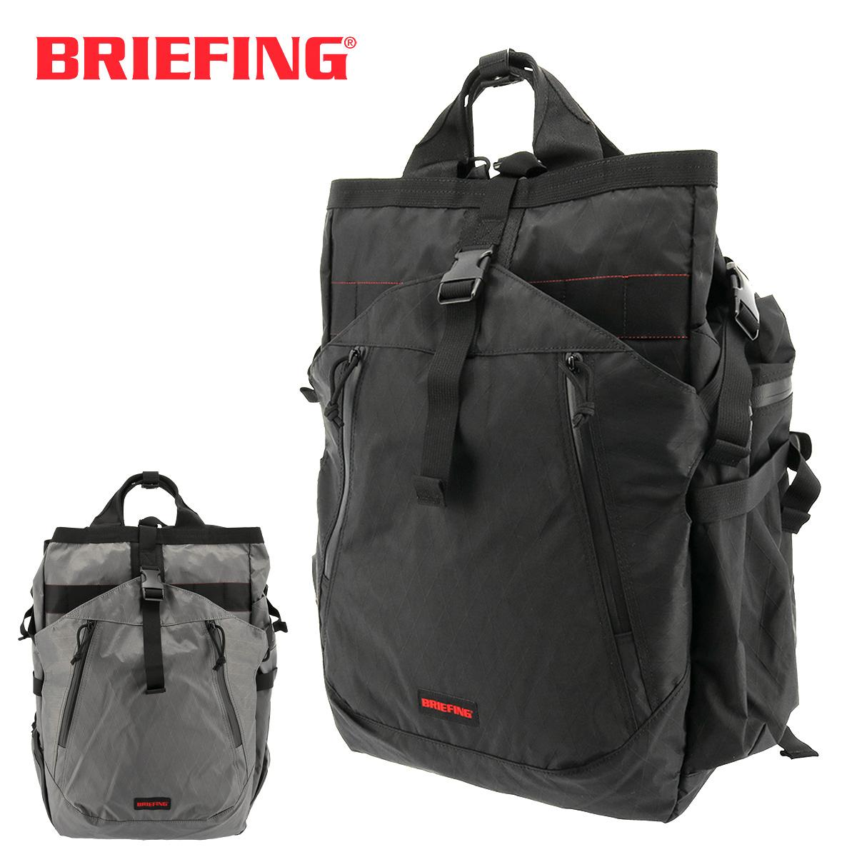 ブリーフィング リュック 大容量 メンズ トランジションバッグ XP BRM183108 BRIEFING リュックサック バックパック スクエア A4 軽量 防水 ナイロン[PO10][bef][即日発送]