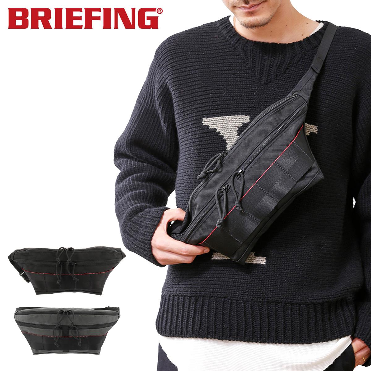 ブリーフィング ボディバッグ USA メンズ BRM183209 BRIEFING   FACE ウエストバッグ ナイロン[PO10][bef][即日発送]