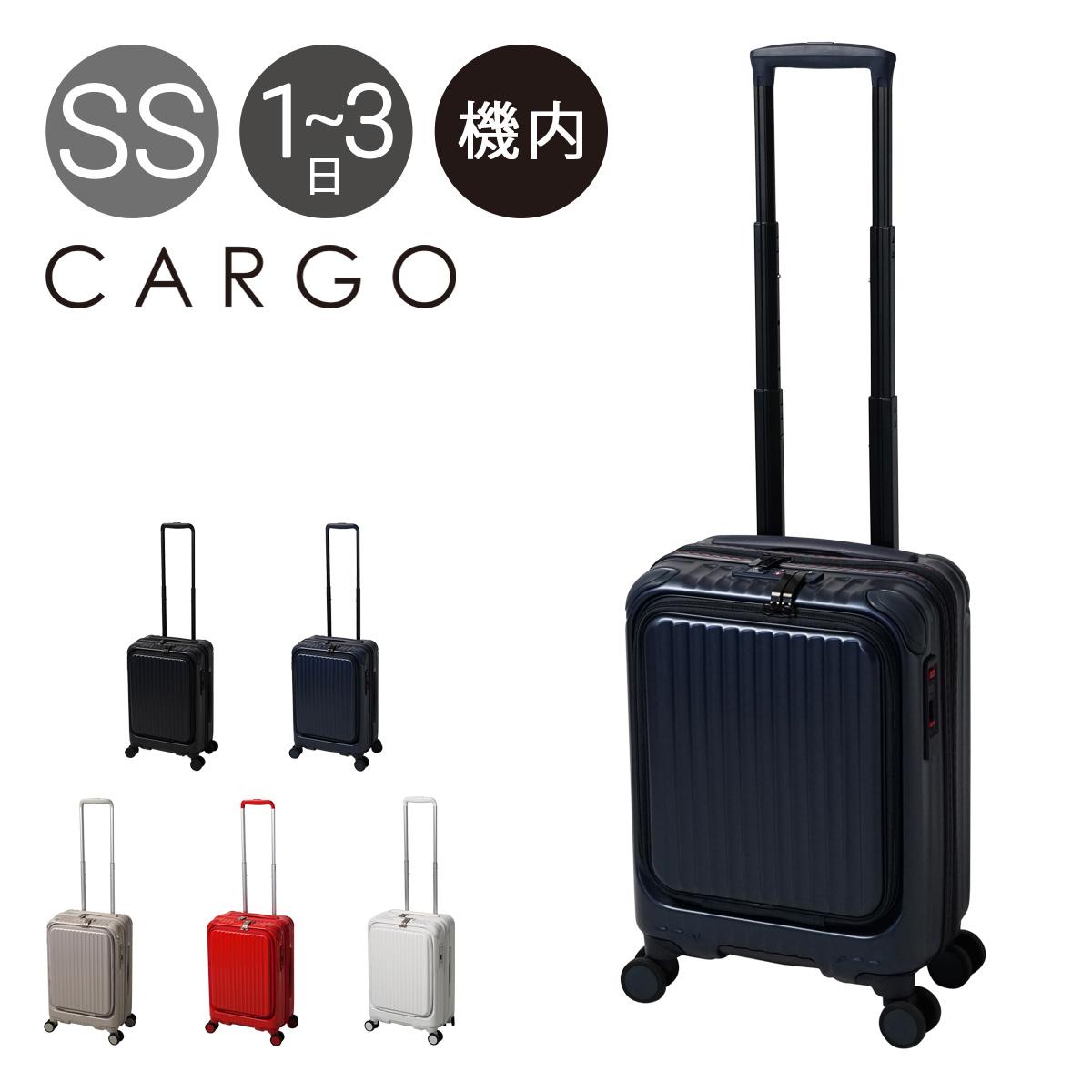 カーゴ スーツケース 機内持ち込み 35L 48cm 3.4kg エアレイヤー CAT532LY CARGO AiR LAYER|ハード ファスナー キャリーバッグ キャリーケース ビジネスキャリー フロントオープン ストッパー付き 静音 TSAロック搭載[PO10]