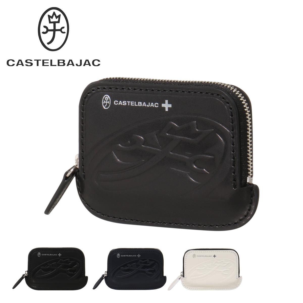 カステルバジャック カードケース ブレス メンズ 32601 CASTELBAJAC | ラウンドファスナー 牛革 本革 レザー[PO10][bef]