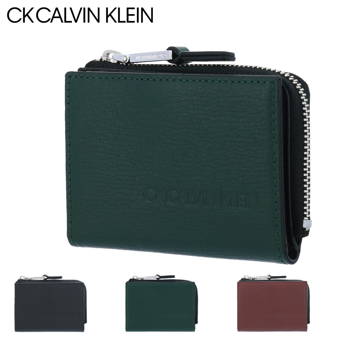 シーケーカルバンクライン 財布 小銭入れ ロック メンズ 803631 CK CALVIN KLEIN|コインケース スコッチガード 牛革 本革 レザー 撥水 [PO5][bef]