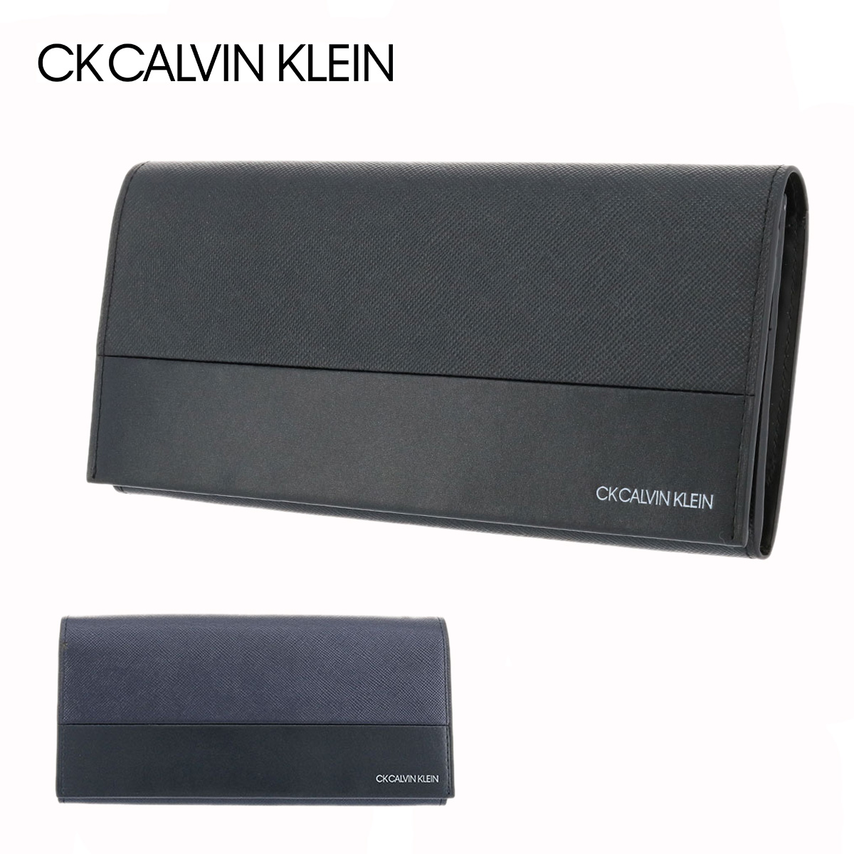 95c3216e8e6c シーケー カルバンクライン 長財布 アロイII メンズ 822655 CK CALVIN KLEIN | 本革 レザー