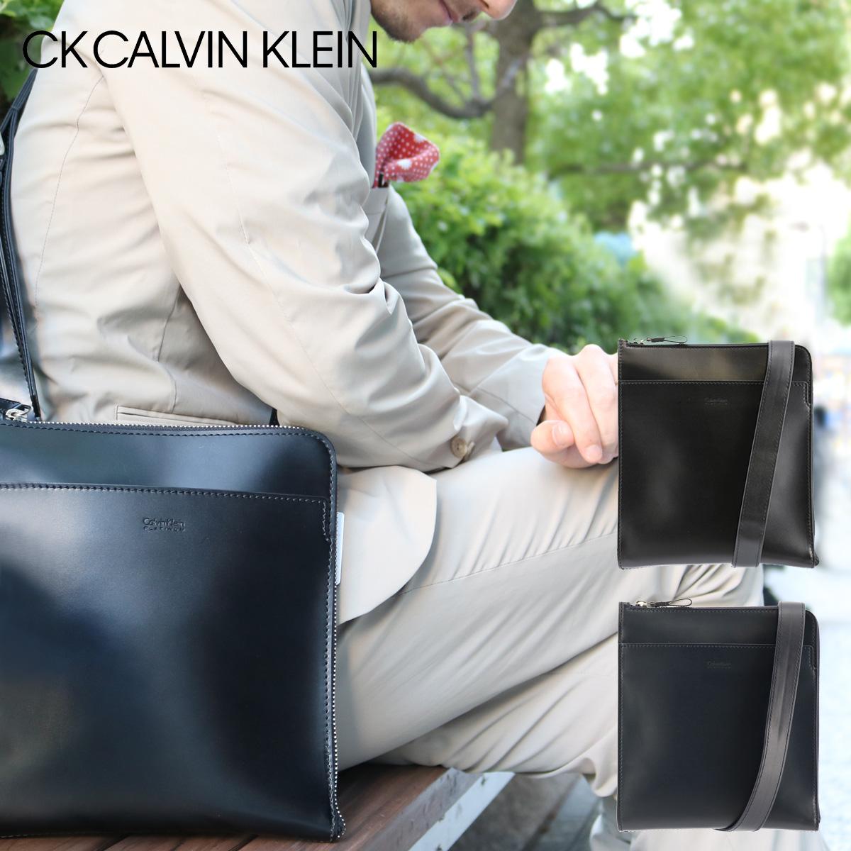 シーケーカルバンクライン ショルダーバッグ メンズ ダイス 807111 CK CALVIN KLEIN 本革 レザー [PO5][bef]