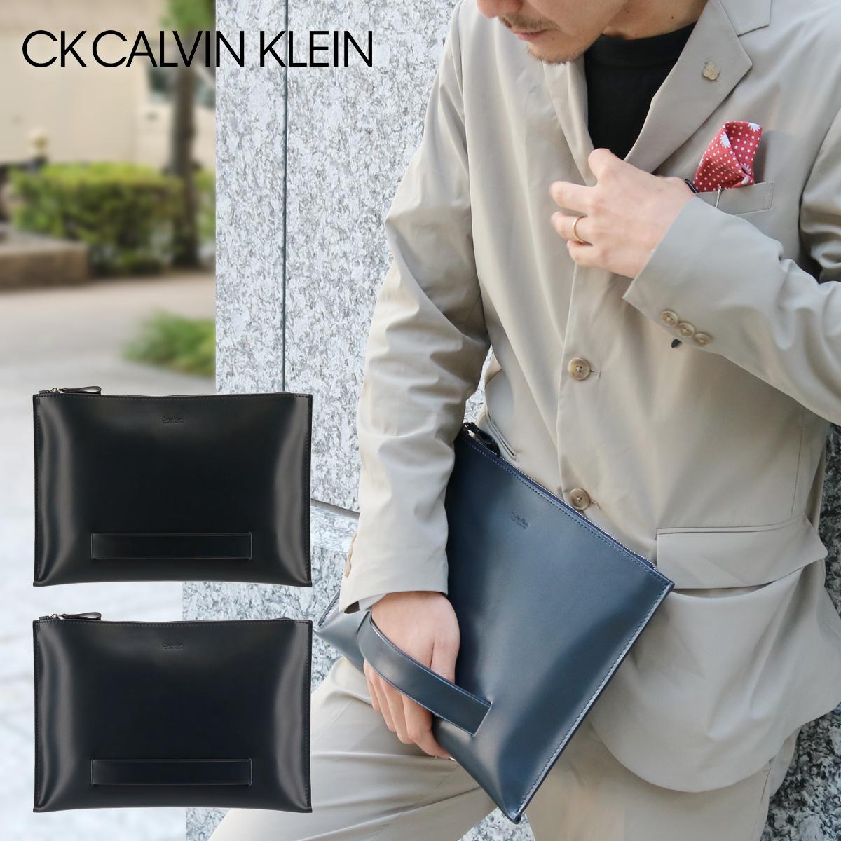 7b8591e32730 シーケーカルバンクライン セカンドバッグ A4 メンズ ダイス 807212 CK CALVIN KLEIN クラッチ ビジネス 本革