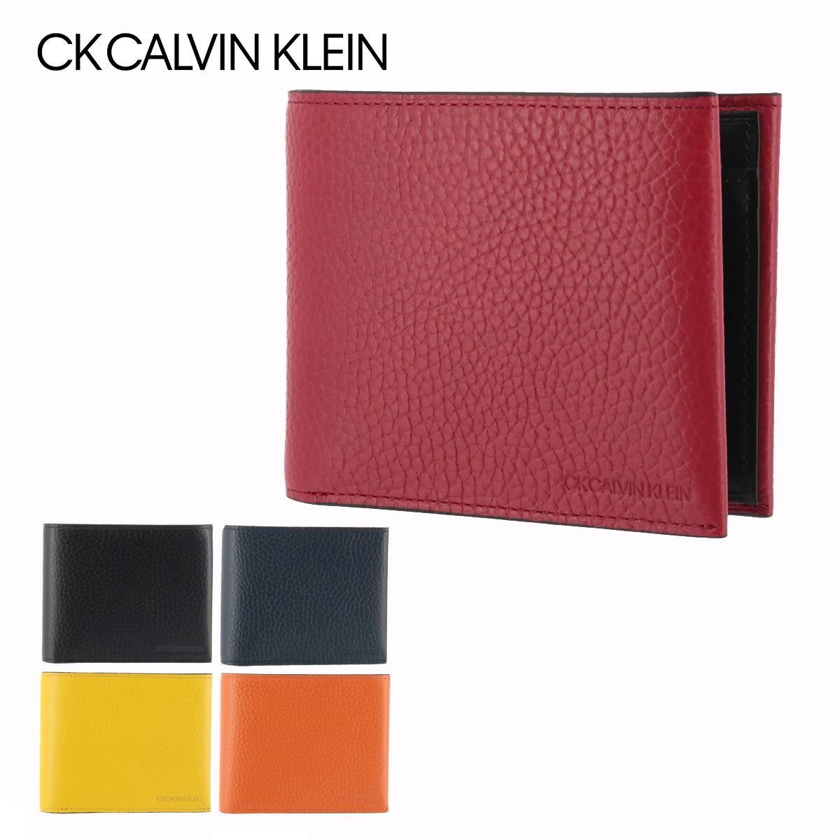 シーケー カルバンクライン 財布 二つ折り メンズ ラップ 820624 CK CALVIN KLEIN 本革 レザー[PO5][bef]