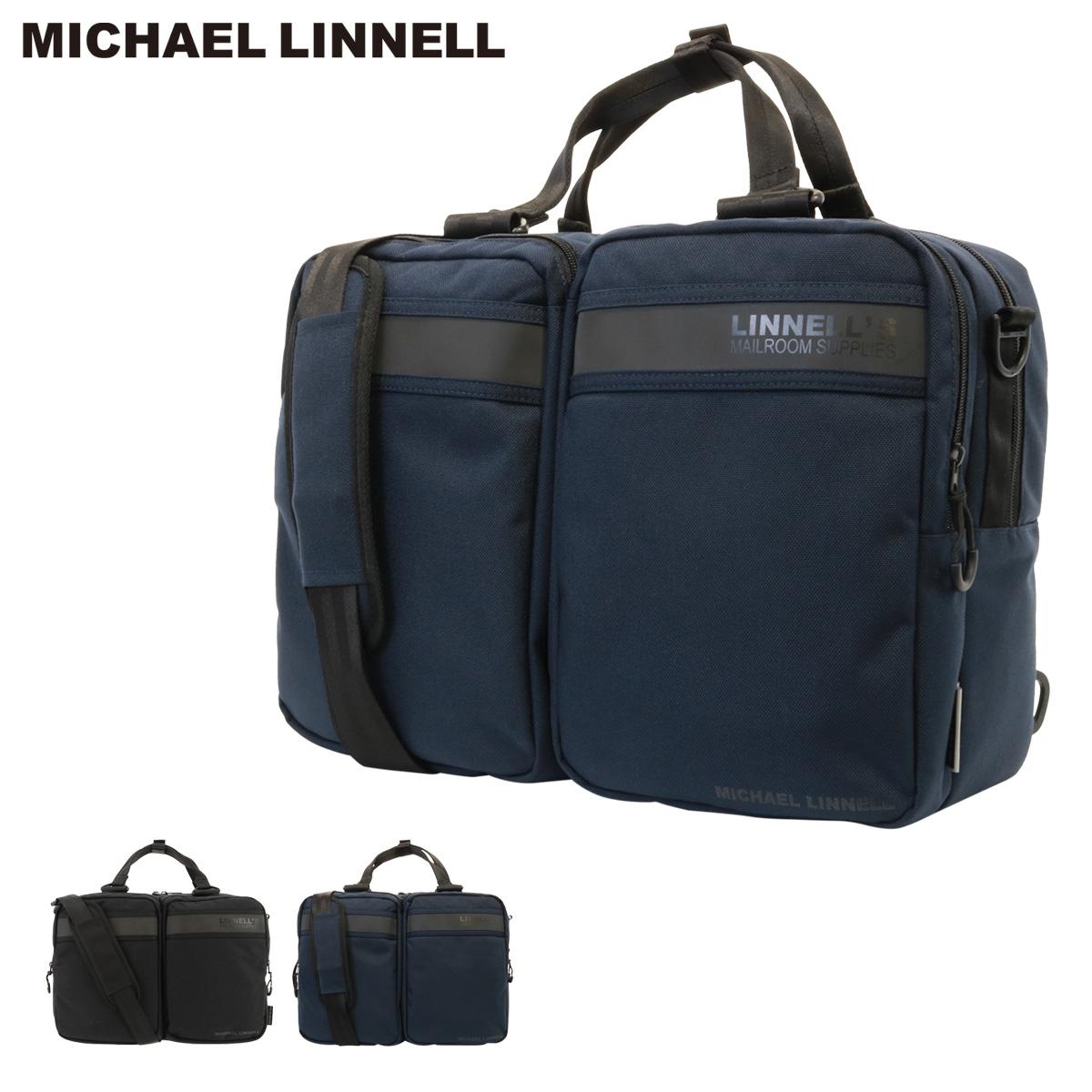 マイケルリンネル ビジネスバッグ 3WAY メンズ F-238 MICHAEL LINNELL | リュック ブリーフケース ビジネス フィセブレイブ FICCEBRAVE [PO5][bef]