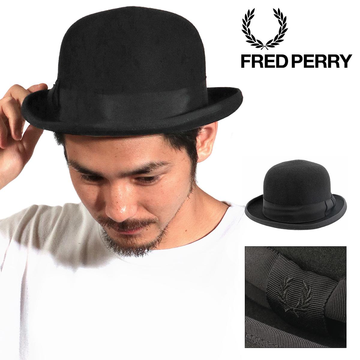フレッドペリー ボーラーハット BOWLER HAT F9484 FRED PERRY ウール メンズ[bef][即日発送]