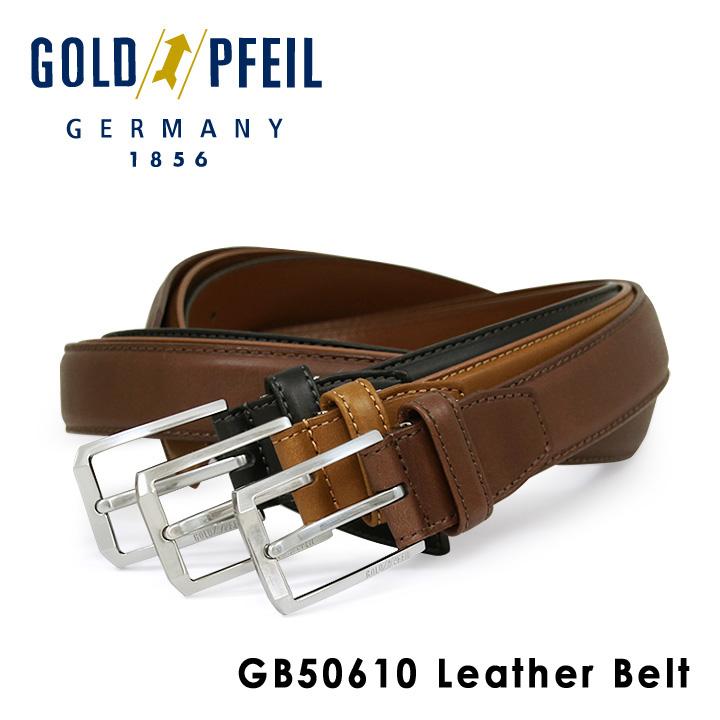 ゴールドファイル ベルト メンズ GB50610 GOLD PFEIL 本革 レザー [PO10][bef]