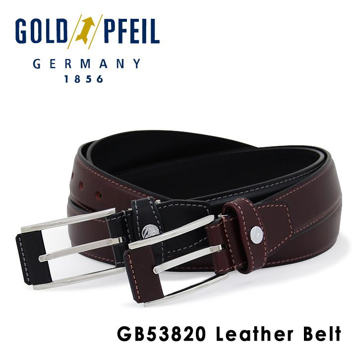 ゴールドファイル ベルト メンズ GB53820 GOLD PFEIL 本革 レザー [PO10][bef]