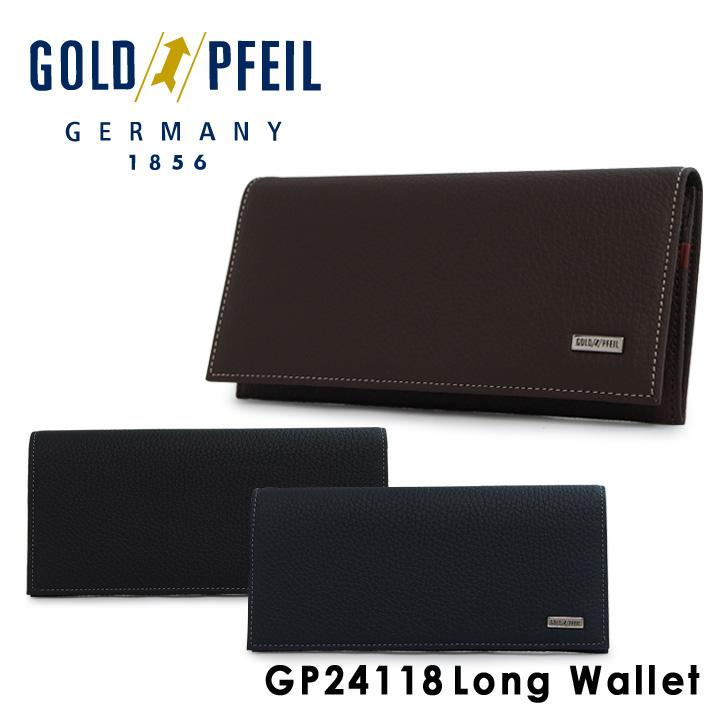 ゴールドファイル 長財布 メンズ GP24118 GOLD PFEIL [1年保証][PO10][bef]