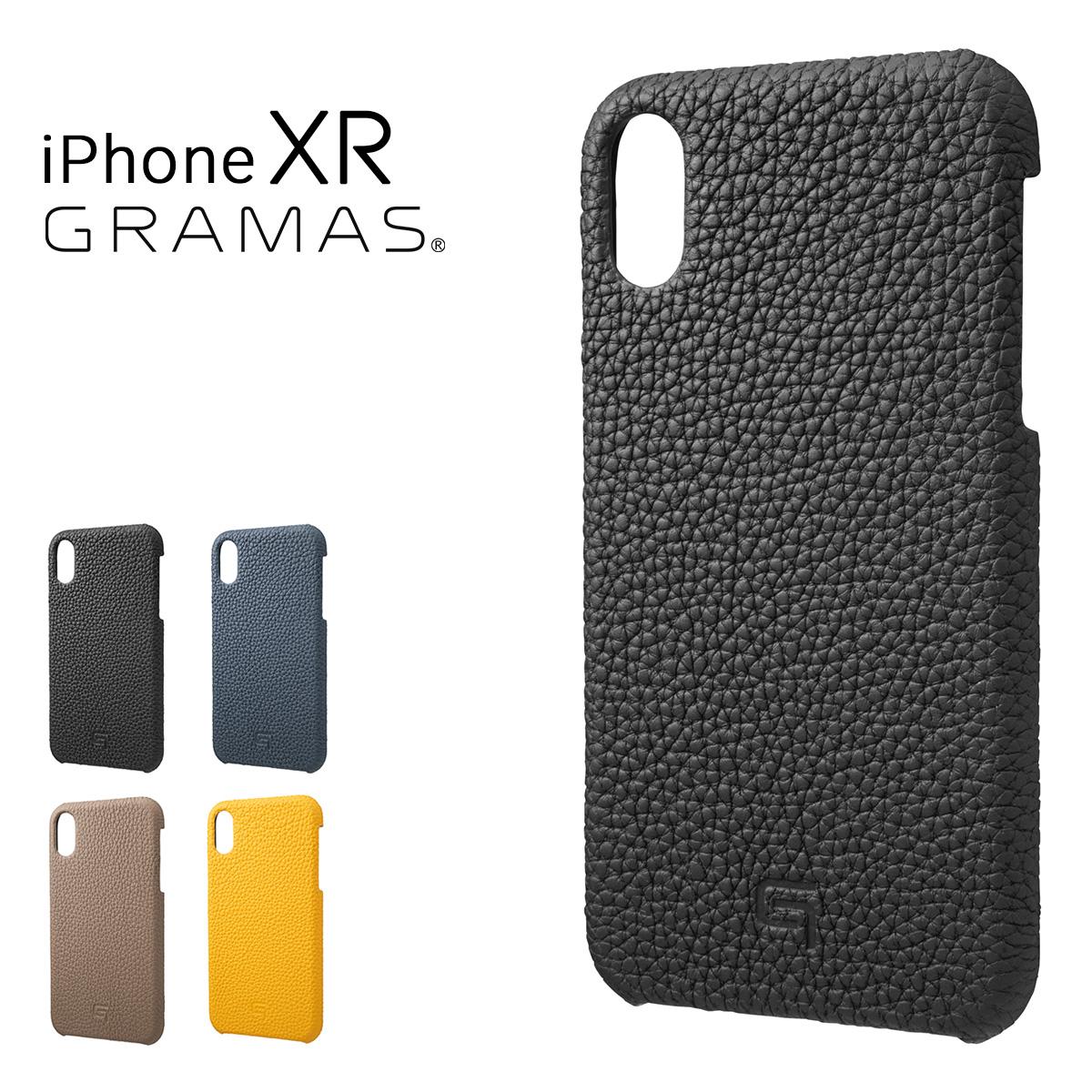 グラマス iPhoneXR ケース メンズ レディースGSC-72558 GRAMAS | スマートフォンケース 本革[bef][即日発送]