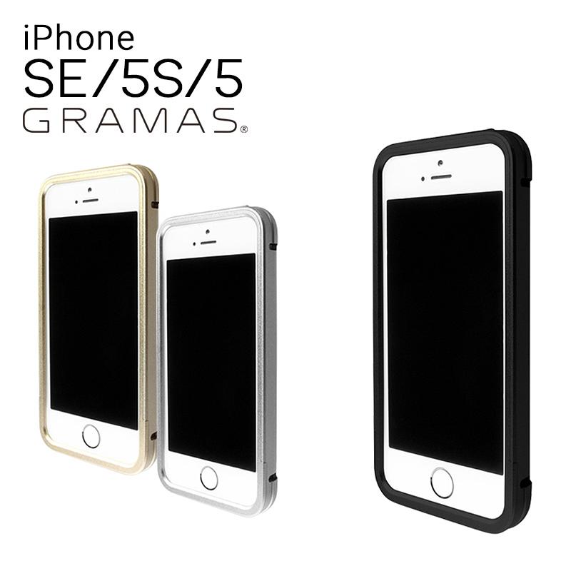 グラマス GRAMAS iPhoneSE iPhone5 ケース Full Metal Case RM02 【 アイフォン スマホケース スマートフォン カバー アルミ削り出し 液晶保護ガラス付属 メンズ 】【bef】【即日発送】