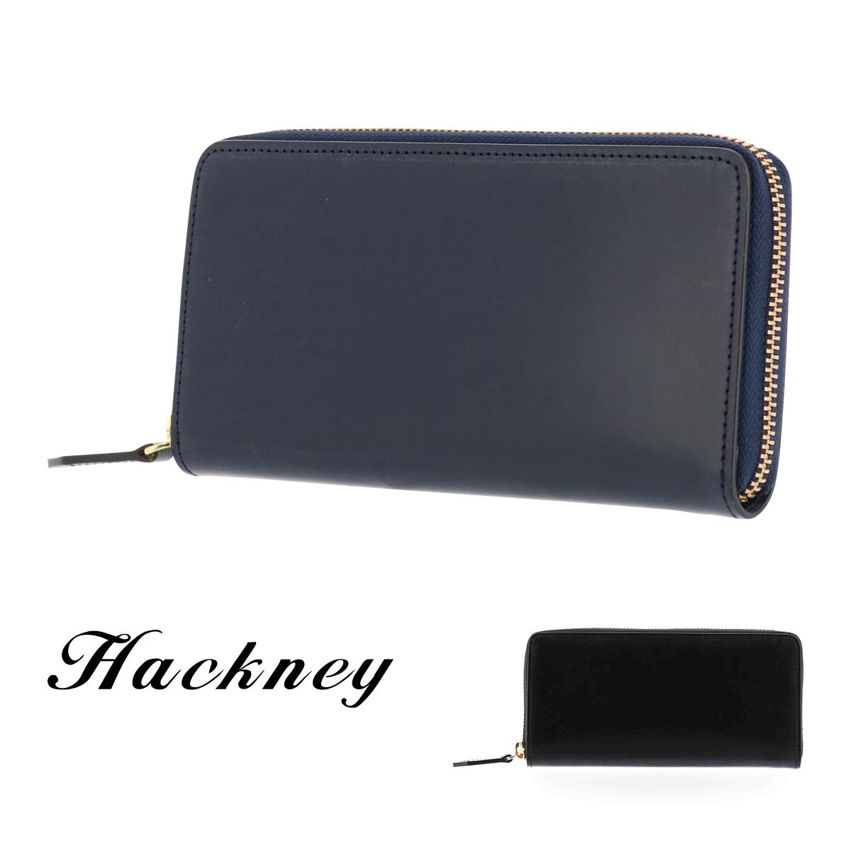 ハックニー 長財布 ラウンドファスナー メンズ HK-900 Hackney ブライドルレザー イタリアンレザー [PO10][bef]