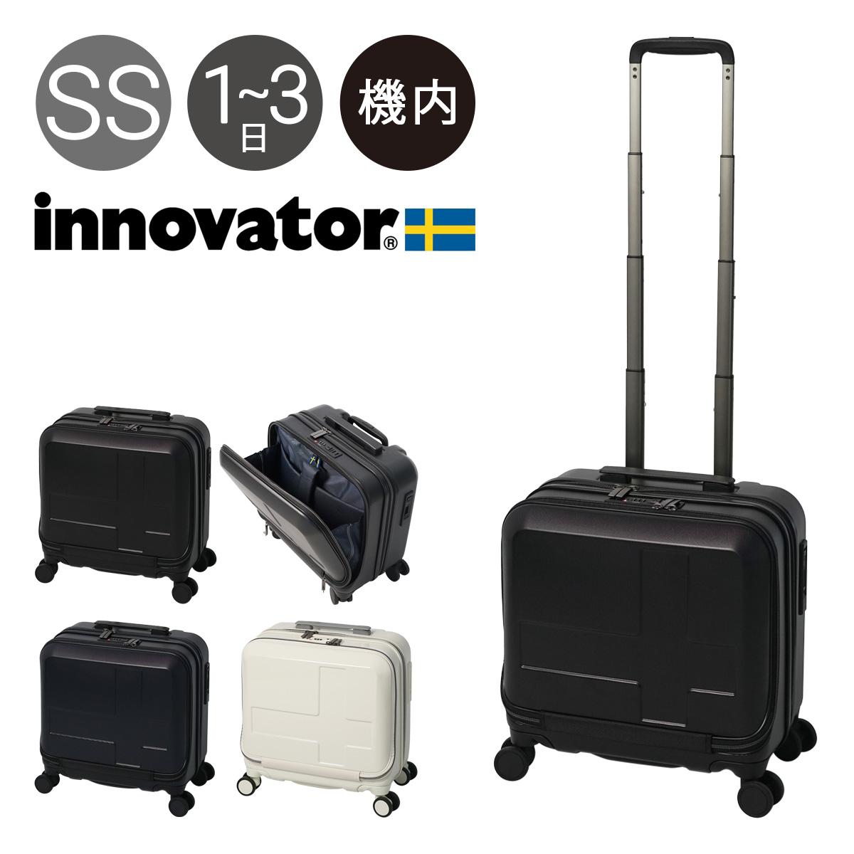 イノベーター スーツケース 横型 4輪 機内持ち込み 33L 36.5cm 3.4kg INV36 innovator|ハード ファスナー キャリーバッグ キャリーケース ビジネスキャリー フロントオープン ストッパー付き TSAロック搭載 HINOMOTO[PO10]