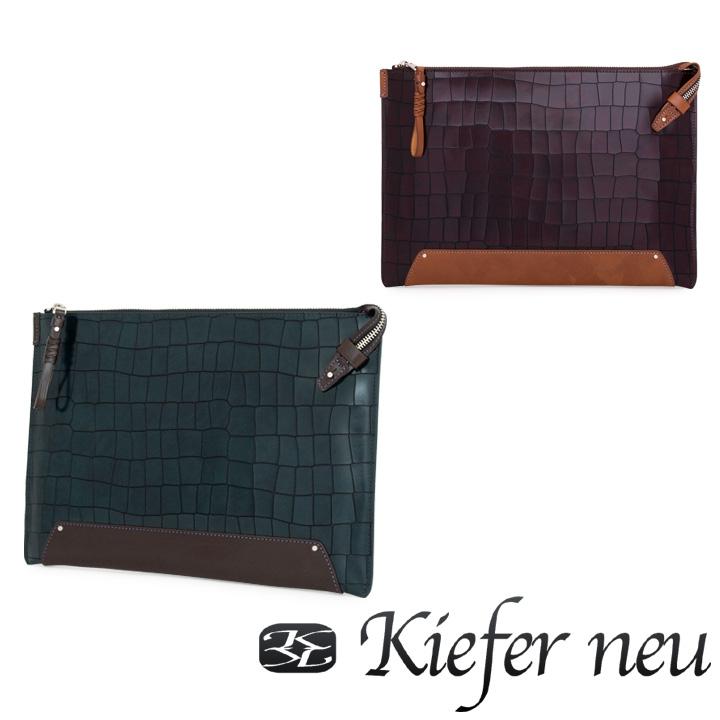 キーファーノイ セカンドバッグ メンズ KFN4402R キーファー・ノイ Kiefer neu Ragna ビジネスバッグ クラッチバッグ 牛革 レザー [PO10][bef]