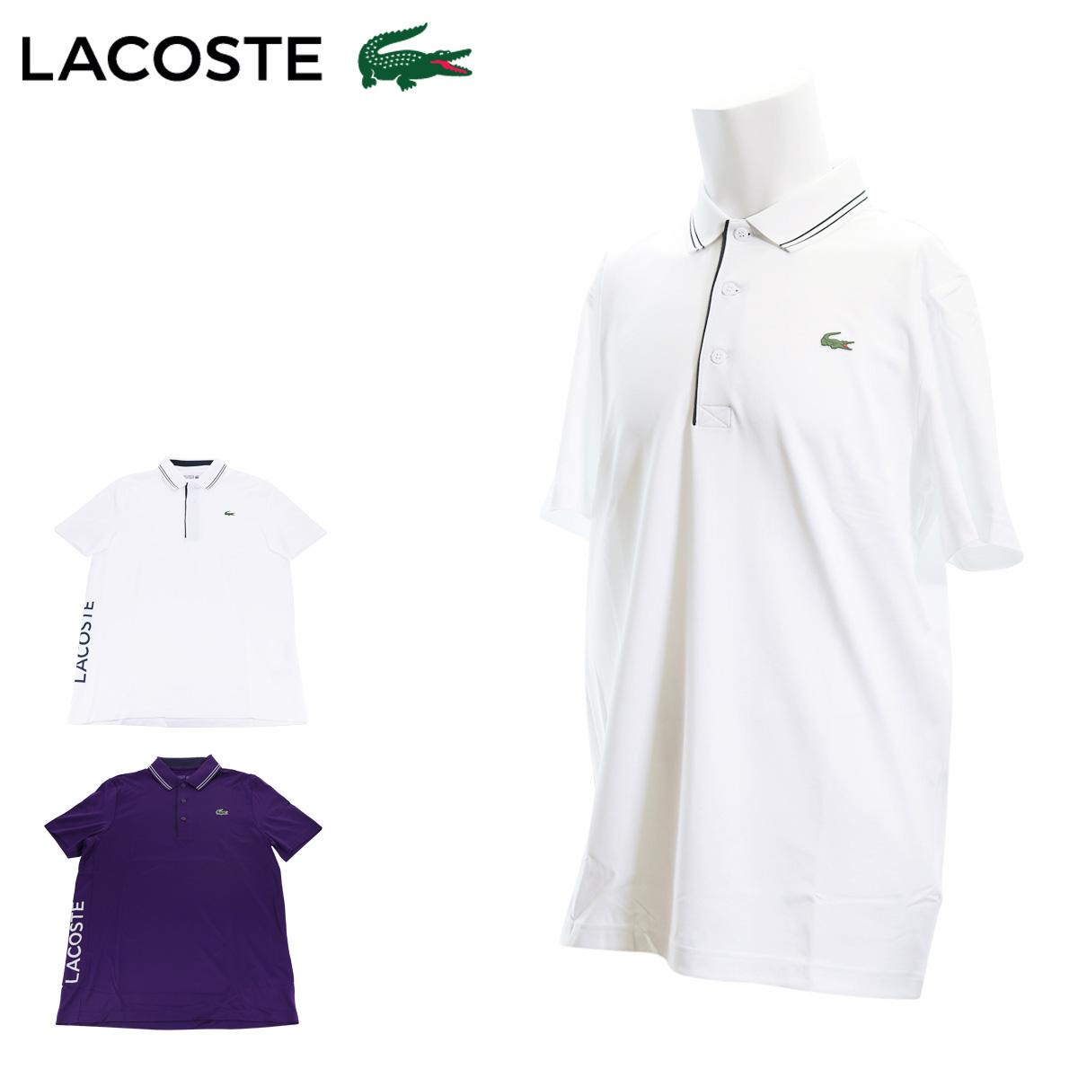 ラコステ ポロシャツ 半袖 SPORT メンズ DH6843L LACOSTE   ポリエステル トップス 無地[PO10][bef]