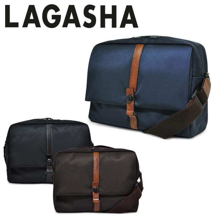 ラガシャ ショルダーバッグ MOVE ムーヴ OFFICE 7143 メンズ 日本製 旅行バッグ カメラバッグ 軽量 高耐久性 2way タブレット対応 LAGASHA 【PO10】【bef】[即日発送]